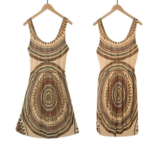 Womens Short Dress- Summer Dress- Indian Dress- Sh