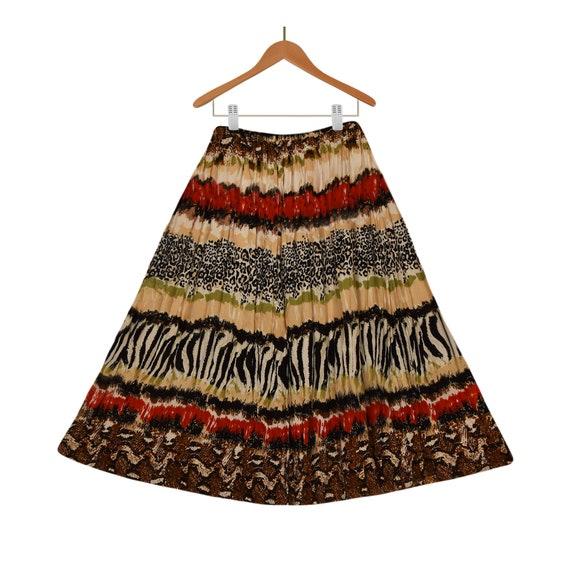 Womens Long Boho Skirt- Long Skirt- Maxi Skirt- Le