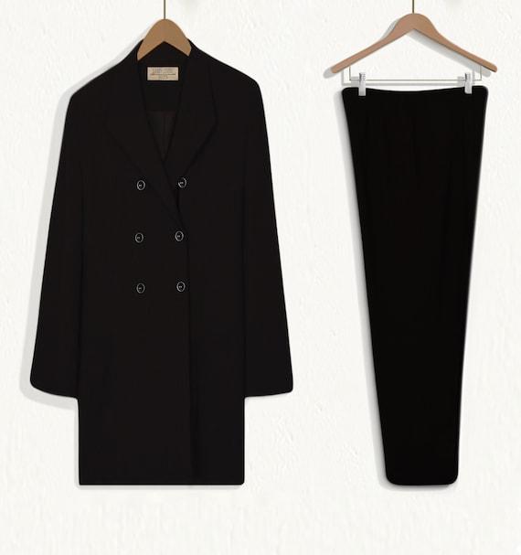 Women's Pant Suit- Black Suit Women- Business Sui… - image 4