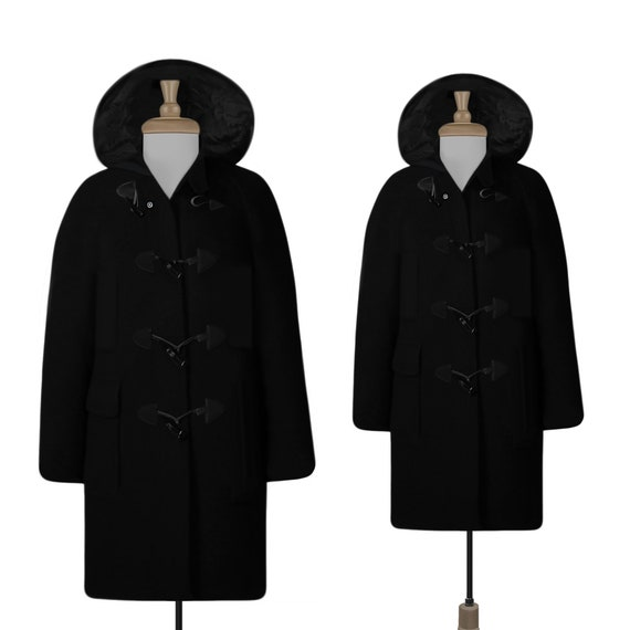 Mens Duffle Coat- Mens Parka- Wool Coat- Mens Wint