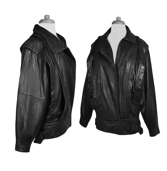 Leather Jacket, Bomber Jacket, Black Leather Jacke