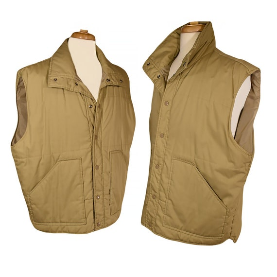 Men's Vest- Vest Jacket- Winter Vest- Utility Vest