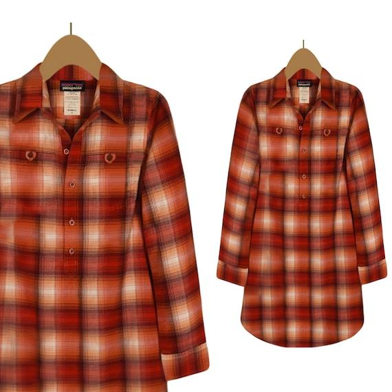 Womens Dress- Shirt Dress- Plaid Dress- Casual Dre