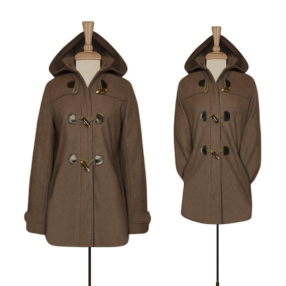 Toggle Coat- Wool Coat- Winter Coat- Parka Jacket-
