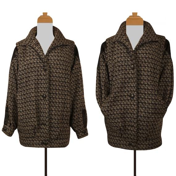 Women's Wool Coat- Wool Jacket- Short Wool Coat- C