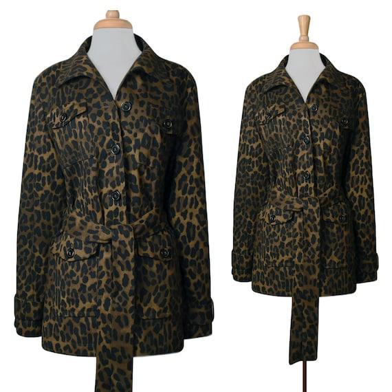 Women's Jacket- Leopard Jacket- Leopard Print Jack