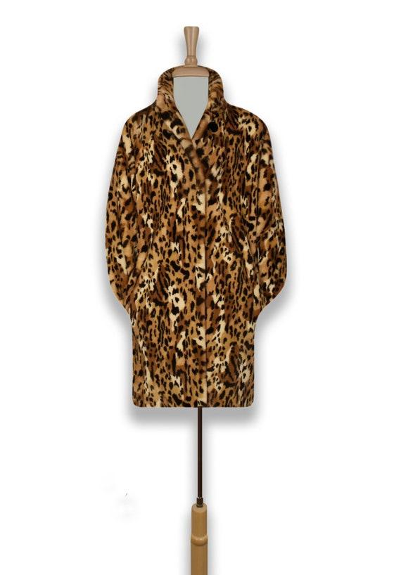 Women's Leopard Coat- Leopard Print Coat- Animal … - image 6