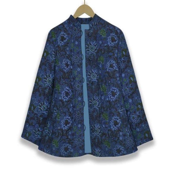 Quilted Jacket- Quilt Jacket Women- Quilt Coat- B… - image 3