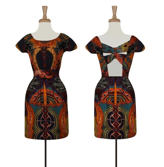 Women's Short Dress- Summer Dress- Boho Dress- Tri