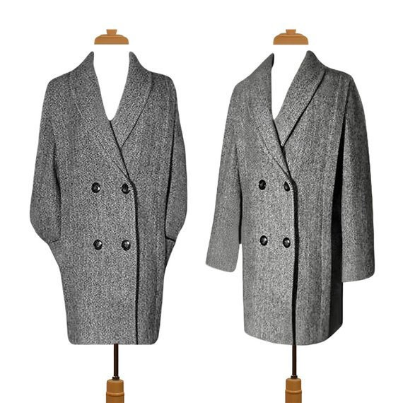 Winter Coat Men- Mens Coat- Wool Coat- Pea Coat- O