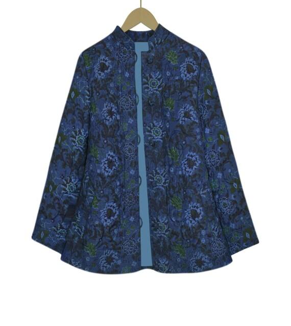 Quilted Jacket- Quilt Jacket Women- Quilt Coat- B… - image 8