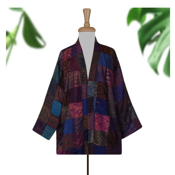 Patchwork Jacket- Patchwork Coat- Hippie Jacket- S