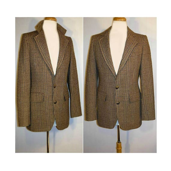 Men's Suit Jacket- Mens Tweed Jacket- Wool Coat- T