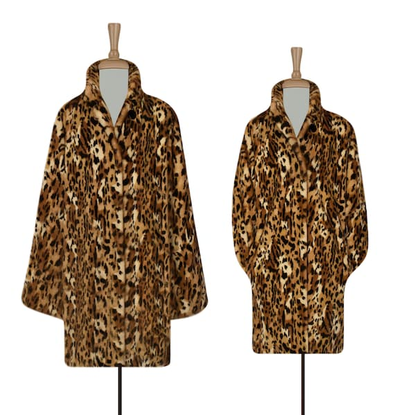 Women's Leopard Coat- Leopard Print Coat- Animal P