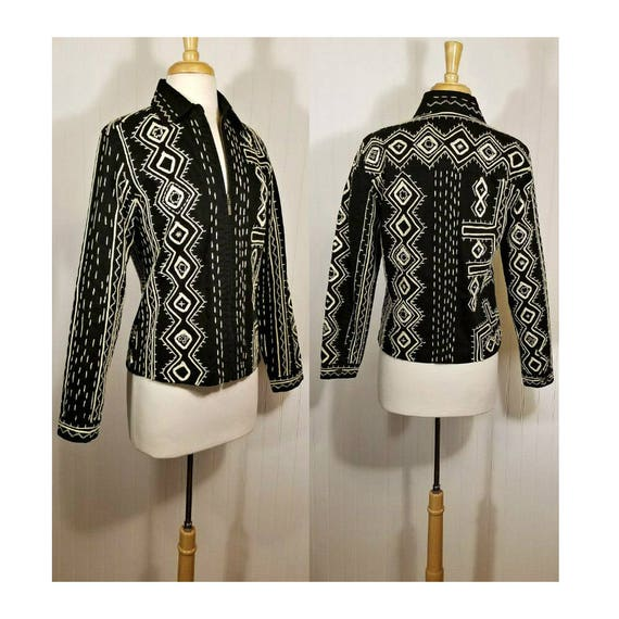 Embroidered Jacket, Womens Jacket, Bohemian Jacket