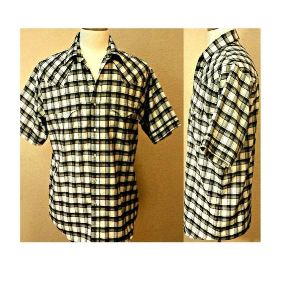 Men's Shirt- Western Shirt- Southwestern Shirt- C… - image 1