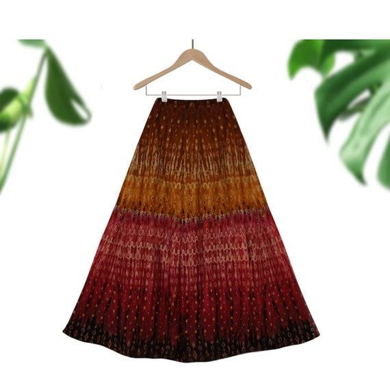 Tapestry Skirt- Long Skirt- Boho Skirt- Hippie Ski