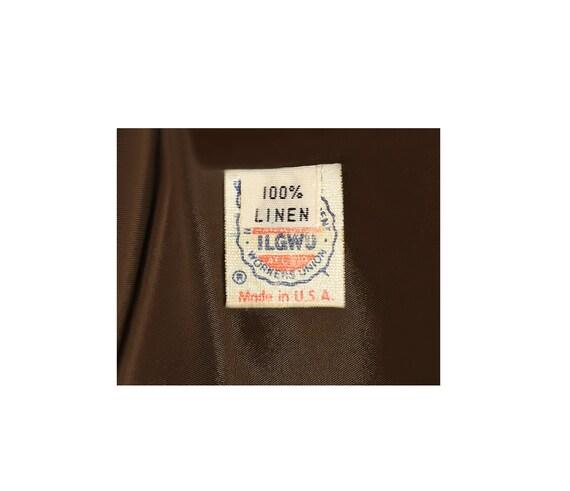 Women's Blazer- Linen Jacket- Linen Blazer- Plaid… - image 8