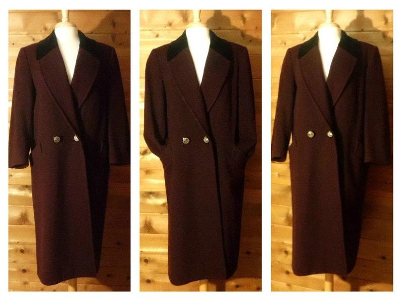 755d9ddb6d3 Womens Coat Wool Coat Winter Coat Plus Size Coat PeaCoat
