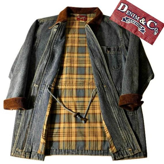 Long Jean Jacket- Denim Coat- Denim Jacket- Blue … - image 5