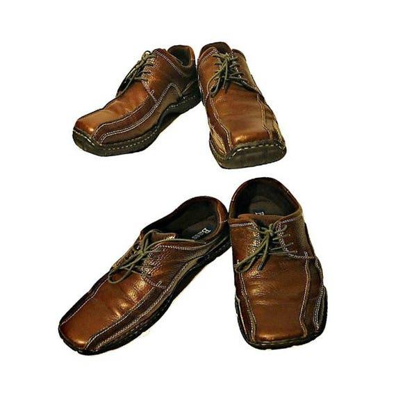 Men's Shoes, Leather shoes, Casual shoes, Brown le