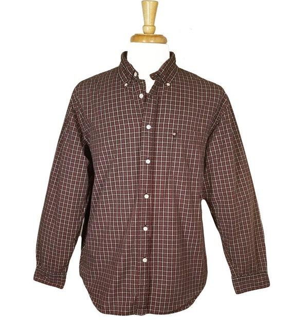 Mens Button Up Shirt- Ralph Lauren Shirt- Long Sle