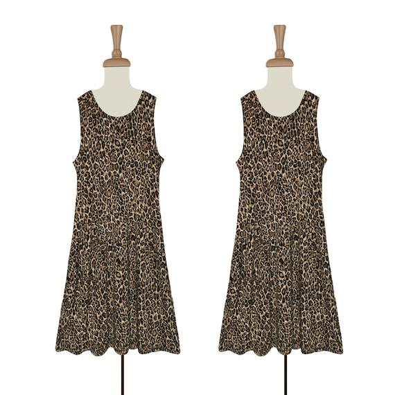 Leopard Dress- Leopard Print Dress- Women's Dress-