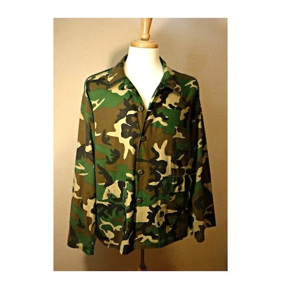 Men's Camo Shirt- Camouflage Shirt- Military Shirt