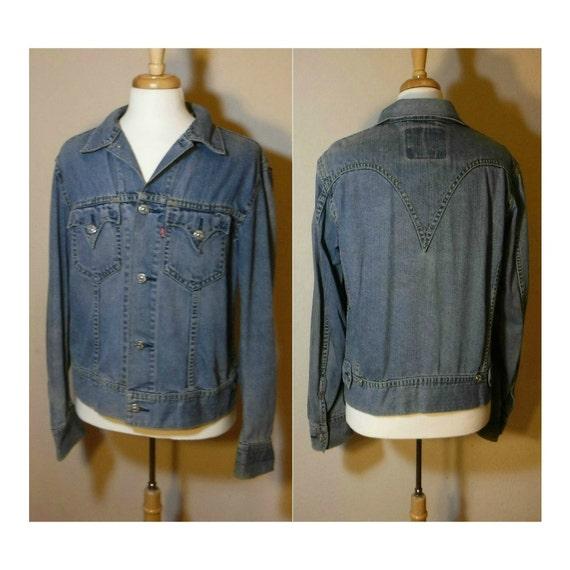 Men's jacket, denim jacket, jean jacket, Levi's Ja