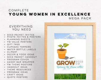 YW & YM Etiquette Dinner Event Pack LDS Young Women Young | Etsy