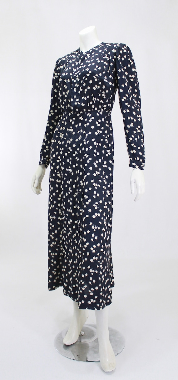 1930s Novelty Print Dress - 1930s Afternoon Dress… - image 2