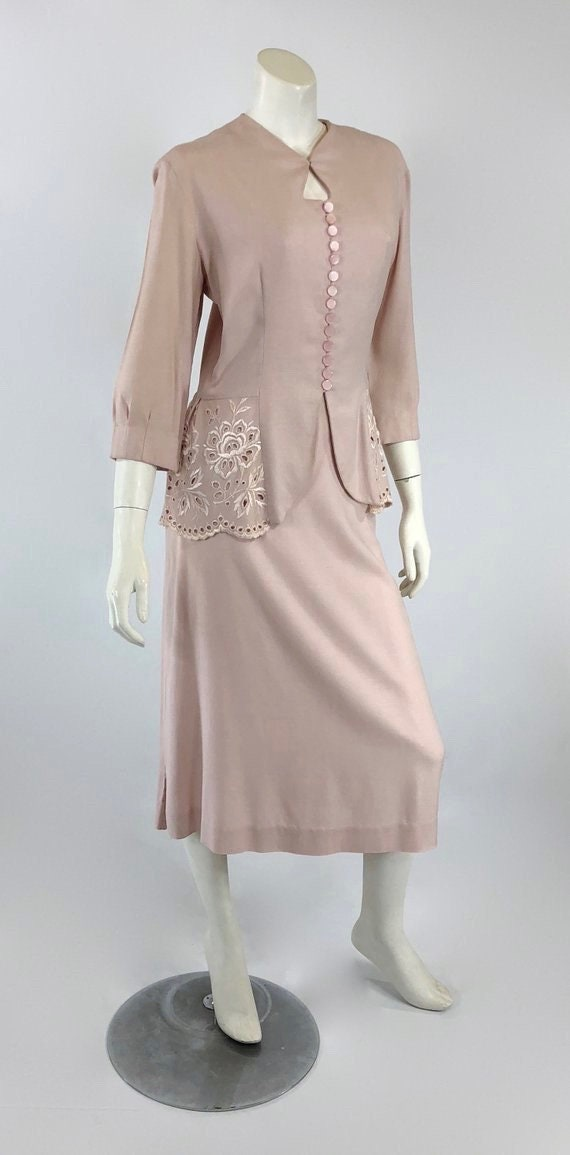 1930s Womens Suit - Womens Pink Suit - 30s Pink S… - image 4