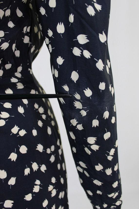 1930s Novelty Print Dress - 1930s Afternoon Dress… - image 10