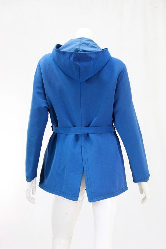 1940s Womens Ski Coat - 1940s Blue Ski Jacket - W… - image 9