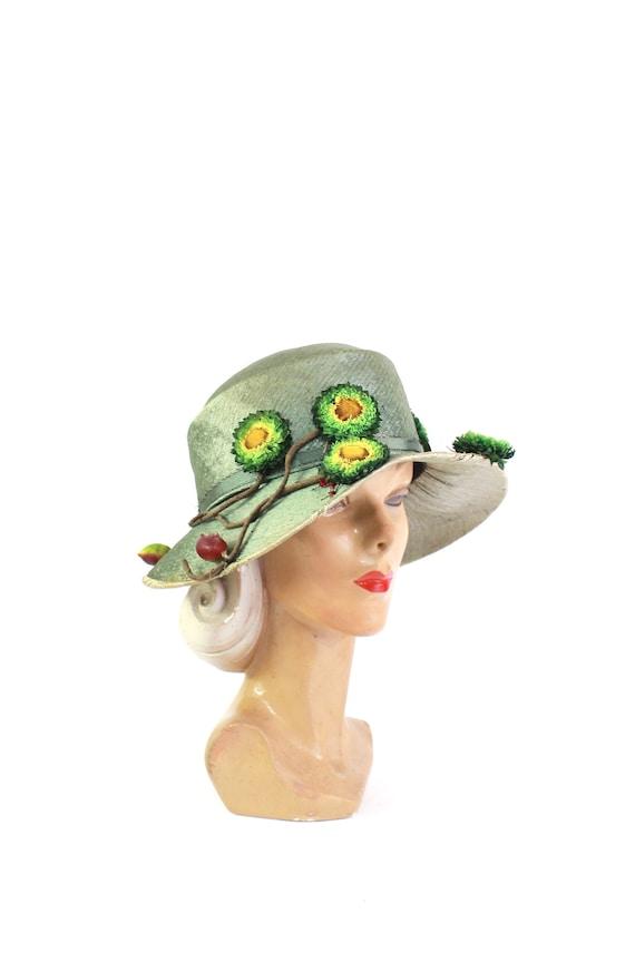 Edwardian Cloche Hat - Womens Edwardian Cloche - A