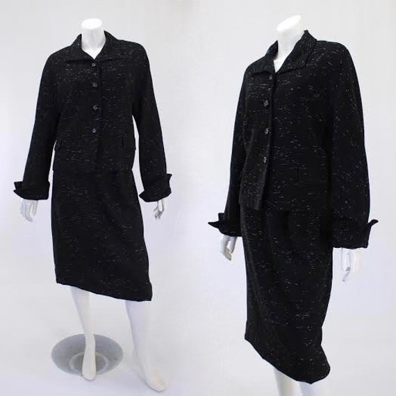 1950s Flecked Suit - 50s Wool Suit - 1950s Womens