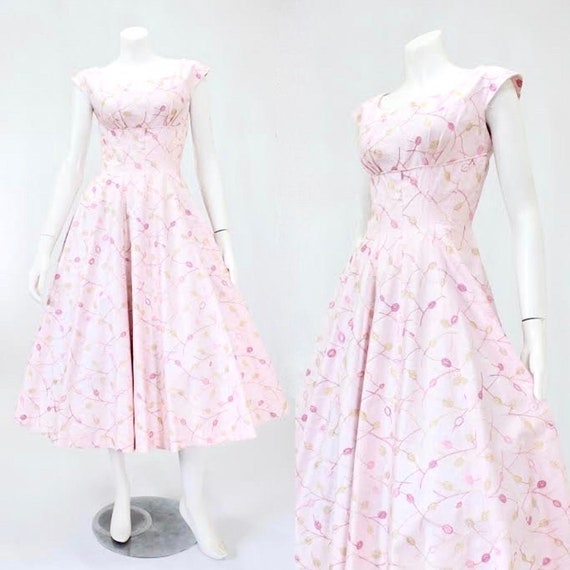 1950s Suzy Perette Dress - 1950s Fit and Flare Dre