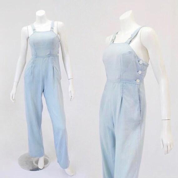 1940s Womens Overalls - 1940s Denim Overalls - Wom