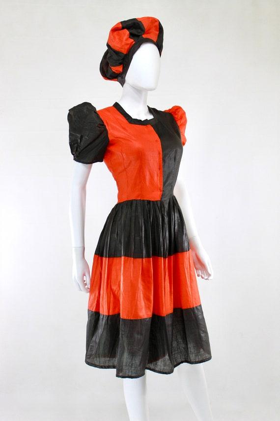 1930s Womens Halloween Costume - Antique Hallowee… - image 5