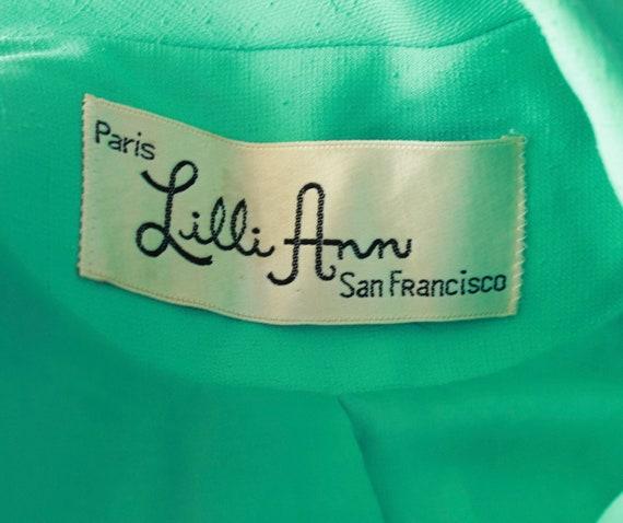 1970s Mint Green Lilli Ann Suit - 70s Womens 3 Pi… - image 9
