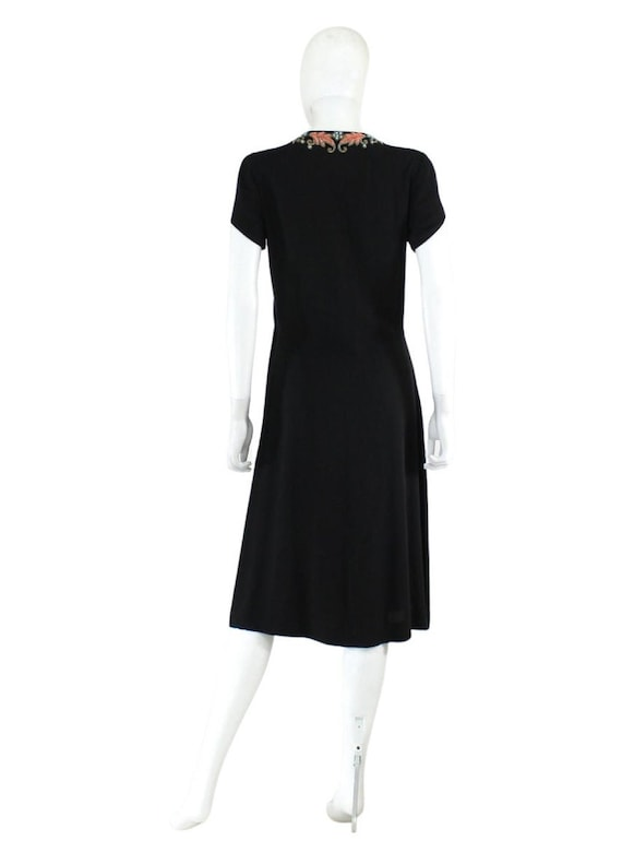 1940s Beaded Cocktail Dress - 1940s Cocktail Dres… - image 8