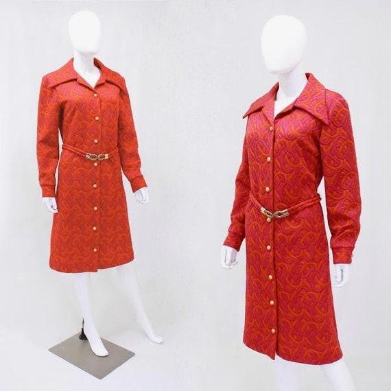 1960s Pink Coat - 1960s Orange Coat - 1960s Pink D