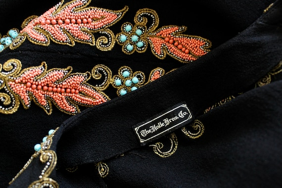 1940s Beaded Cocktail Dress - 1940s Cocktail Dres… - image 10