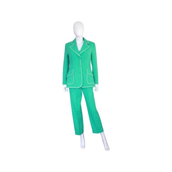 1970s Mint Green Lilli Ann Suit - 70s Womens 3 Pi… - image 2