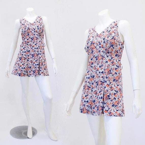 1930s Swim Dress - 1930s Bathing Suit - 1930s Swim