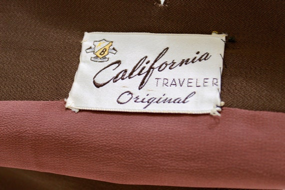 RESERVED | 1940s Womens Brown Suit - 1940s Brown … - image 10