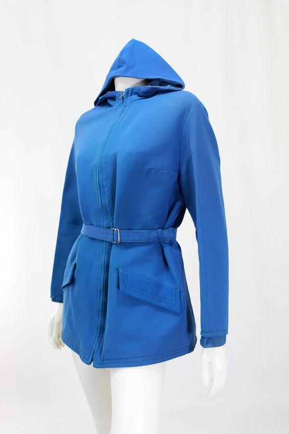 1940s Womens Ski Coat - 1940s Blue Ski Jacket - W… - image 8