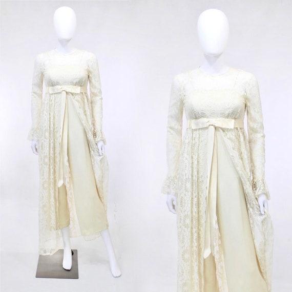 1960s Wedding Jumpsuit - Vintage Wedding Jumpsuit