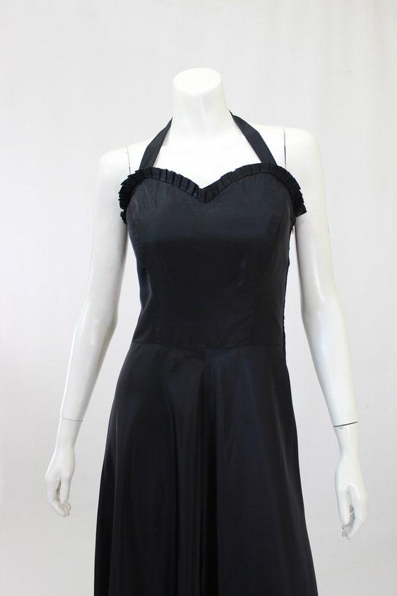 1930s Black Dress - 1930s Gown - 1930s Evening Go… - image 3