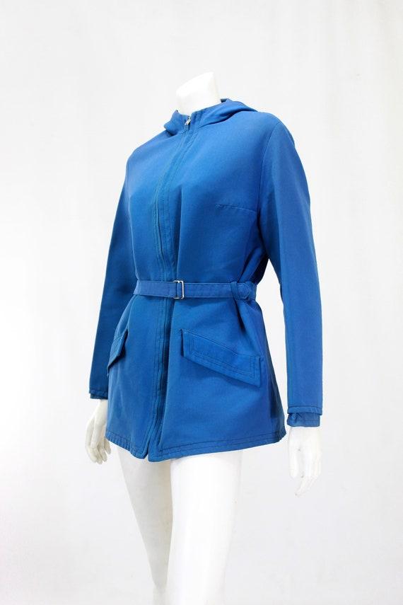1940s Womens Ski Coat - 1940s Blue Ski Jacket - W… - image 7